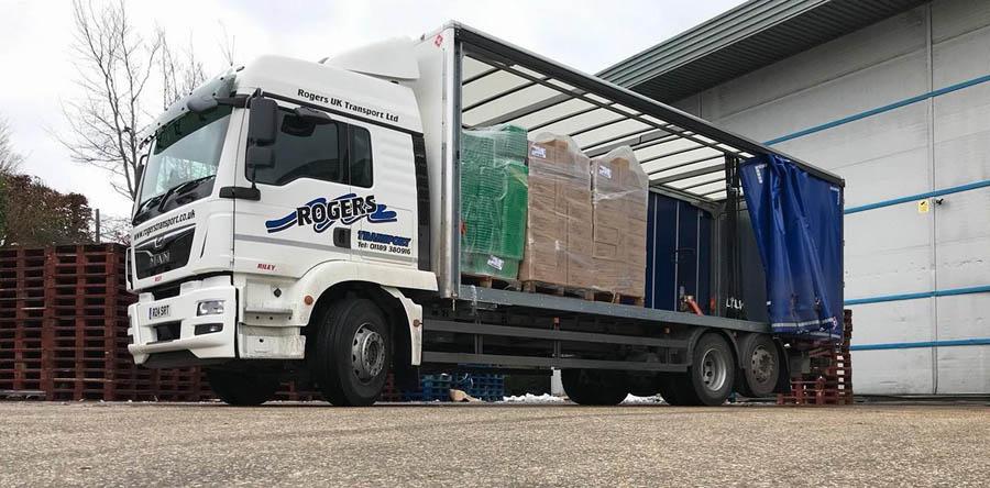 Next Day Pallet Delivery Basingstoke